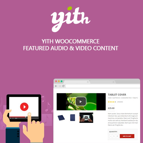 wordpress插件-YITH WooCommerce Featured Audio & Video Content Premium 1.3.12