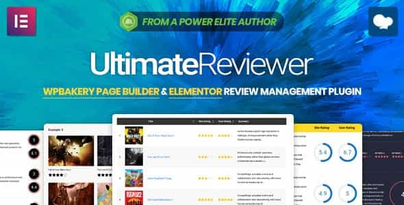 wordpress插件-Ultimate Reviewer 2.8.1
