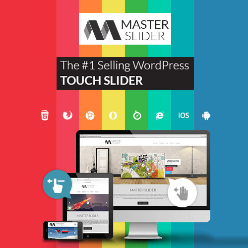 wordpress插件-Master Slider – Touch Layer Slider WordPress Plugin 3.5.0
