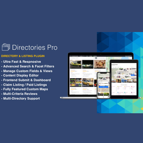 wordpress插件-Directories Pro plugin for WordPress 1.3.67
