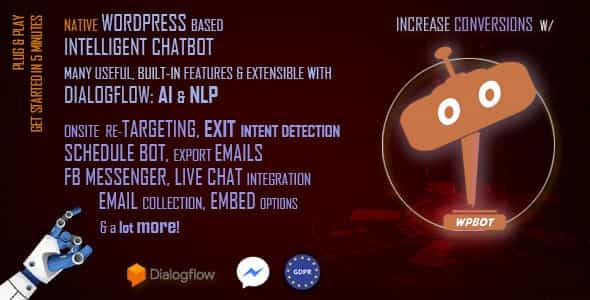 wordpress插件-Chatbot for WordPress 10.5.8