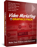 Video Marketing Graphics Pack视频营销图形包