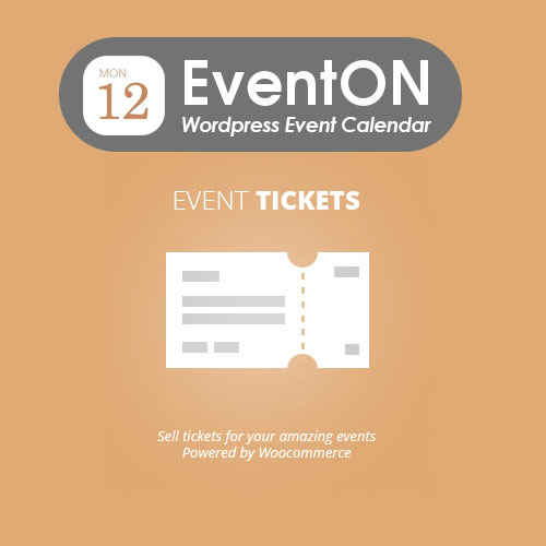 wordpress插件-EventOn Event Tickets 1.9.2