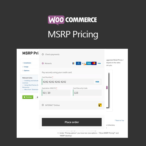 wordpress插件-WooCommerce MSRP Pricing 3.2.1