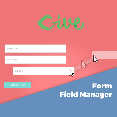 wordpress插件-Give – Form Field Manager 1.6.0