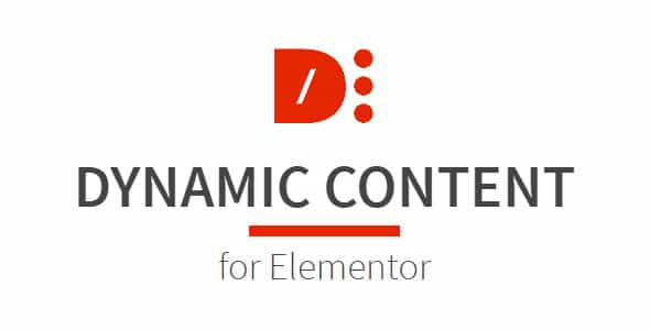 wordpress插件-Dynamic Content for Elementor 1.14.0