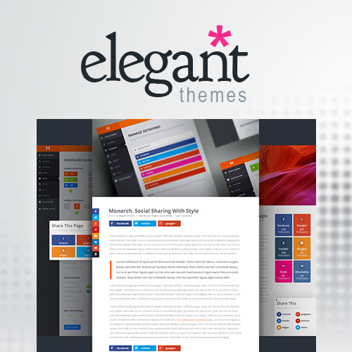 wordpress主题-Elegant Themes Monarch Social Media Sharing 1.4.14