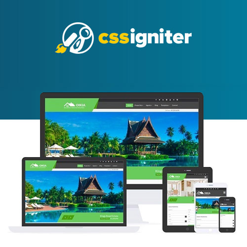 wordpress主题-CSS Igniter Oikia WordPress Theme 1.8.0