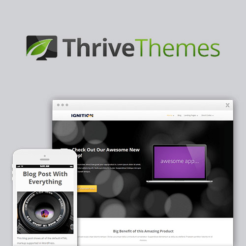 wordpress主题-Thrive Themes Ignition WordPress Theme 2.0.2