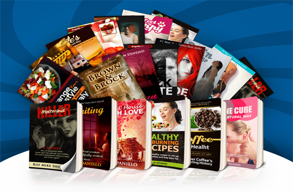 Mega Collection Of 61 Kindle eCover PSD Templates